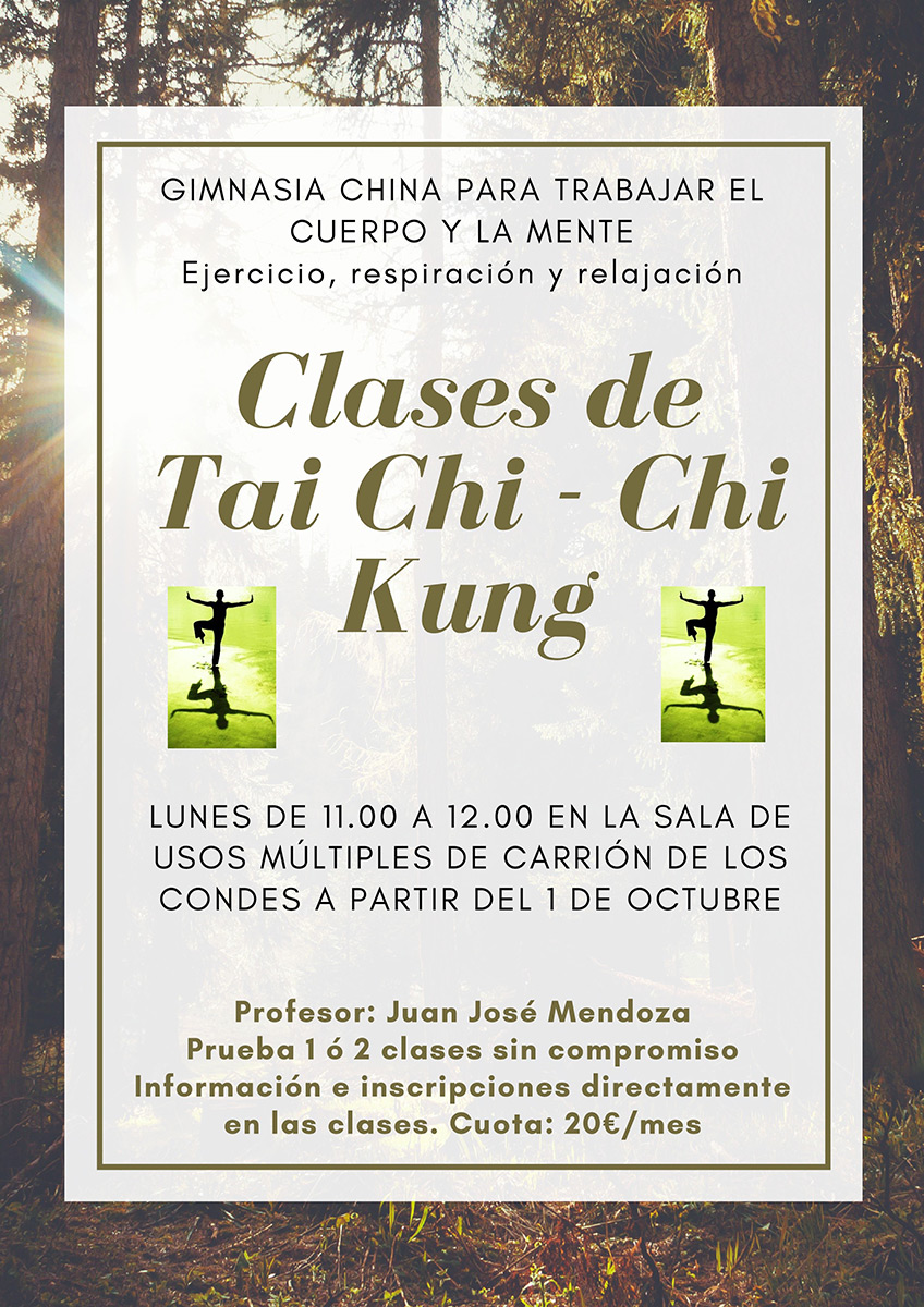 CLASES DE TAI CHI - CHI KUNG