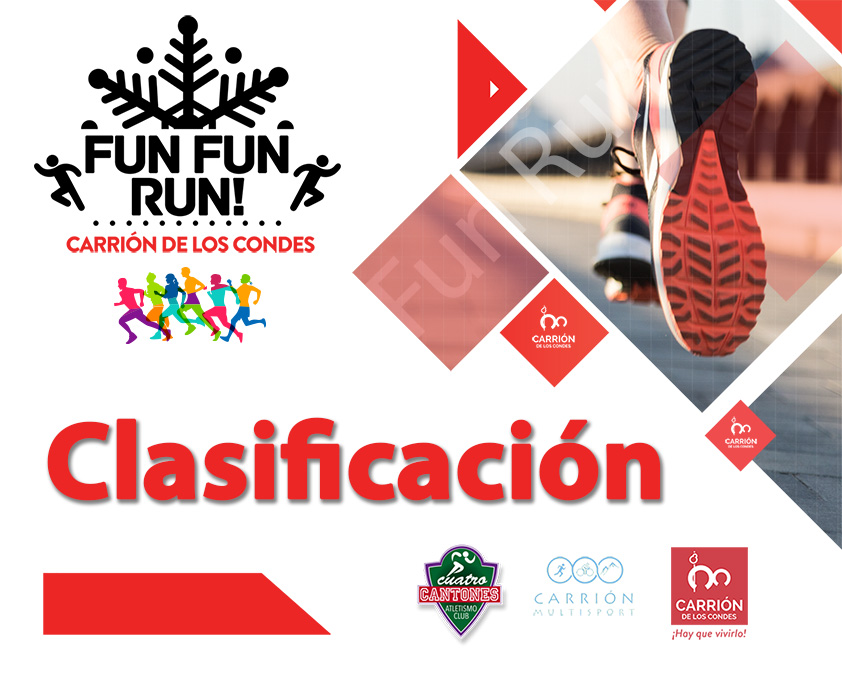 Clasificación Fun Fun Run 2019