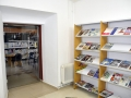 Entrada superior biblioteca, Carrión de los Condes