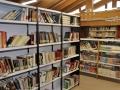 Estanterias libros biblioteca, Carrión de los Condes