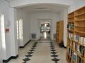Pasillo biblioteca, Carrión de los Condes