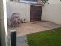 Puerta museo patio, Carrión de los Condes