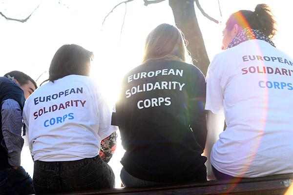 Cuerpo Europeo de Solidaridad (CES)