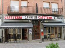 Cafetería Carrión en Carrión de los condes