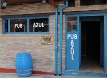 Pub Azul en Carrión de los condes