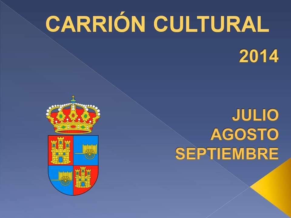 Carrión cultura 2014 en Carrión de los Condes