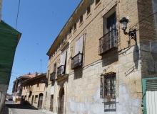Vista perfil casa de los Girón en Carrión de los Condes