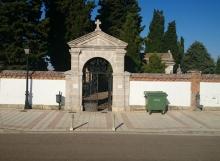 Cementerio municipal en Carrión de los condes