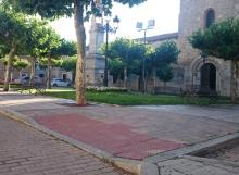Plaza de Santa María en Carrión de los condes
