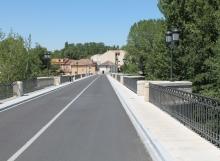Puente mayor en Carrión de los condes