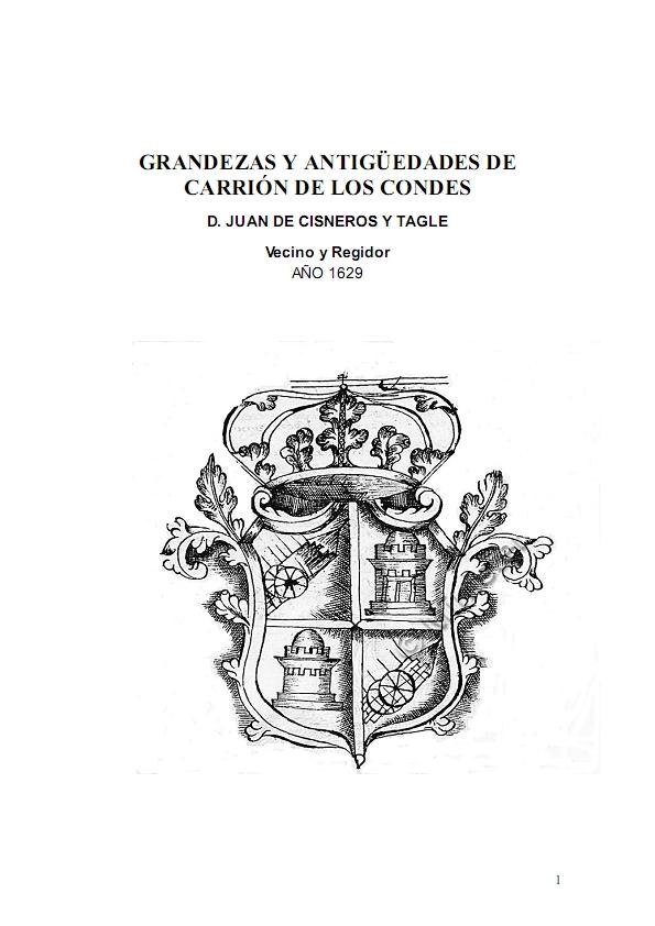 Grandezas y antigüedades de Carrión de los Condes