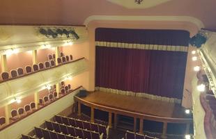 Interior teatro Sarabia Carrión de los Condes