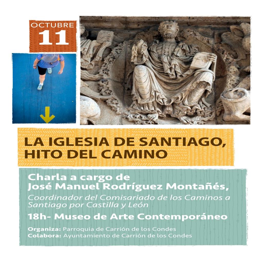 Charla-Iglesia-de-Santiago Carrión de los Condes