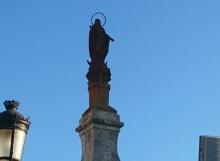 Estatua Inmaculada Carrión de los Condes