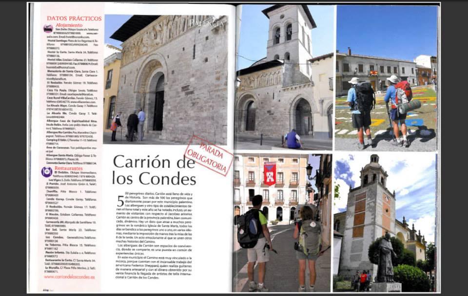 Camino de santiago Carrión de los Condes