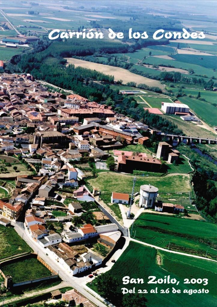 Programa-San-Zoilo-2003-1 Carrión de los Condes