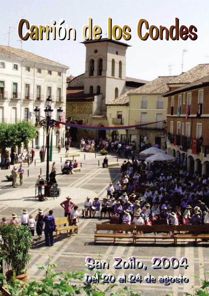 Programa-San-Zoilo-2004-1 Carrión de los Condes