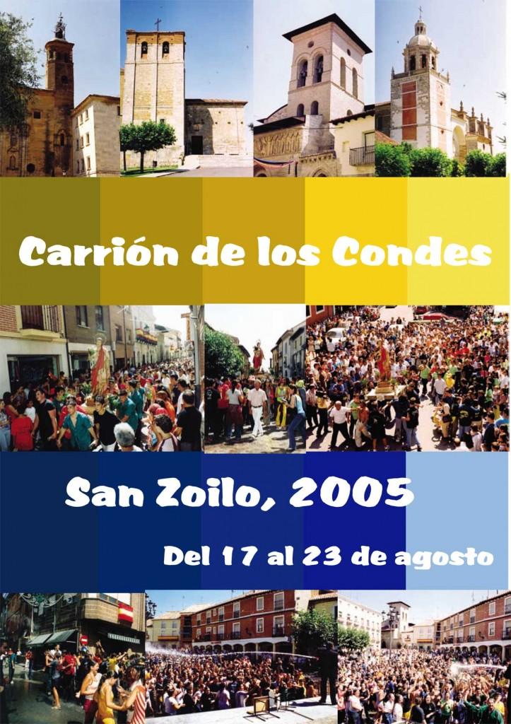 Programa-San-Zoilo-2005-1 Carrión de los Condes