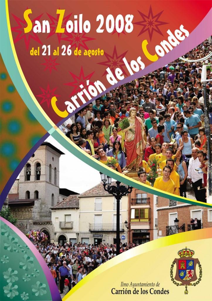 Programa-San-Zoilo-2008-1 Carrión de los Condes