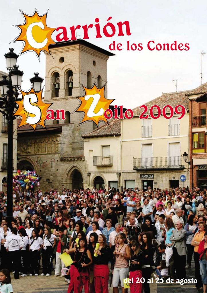Programa-San-Zoilo-2009-1 Carrión de los Condes