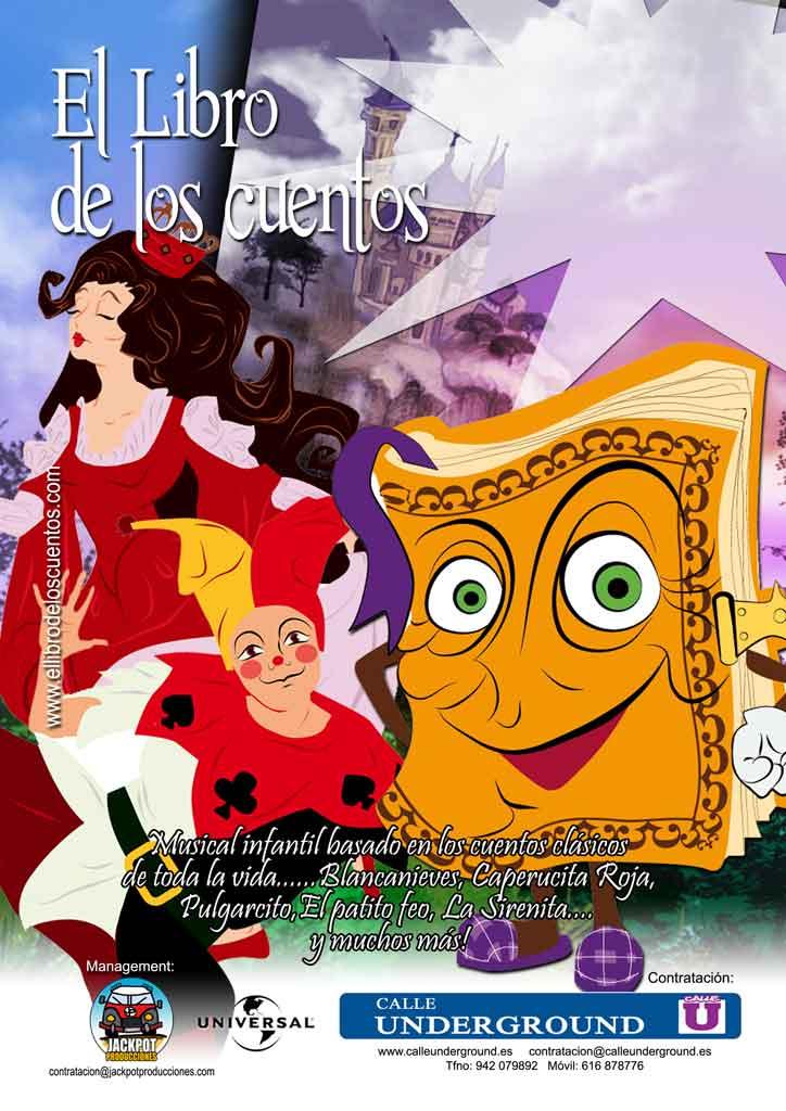 Cartel-el-libro-de-los-cuentos Carrión de los Condes