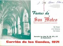 Feria de San Mateo 1971 Carrión de los Condes