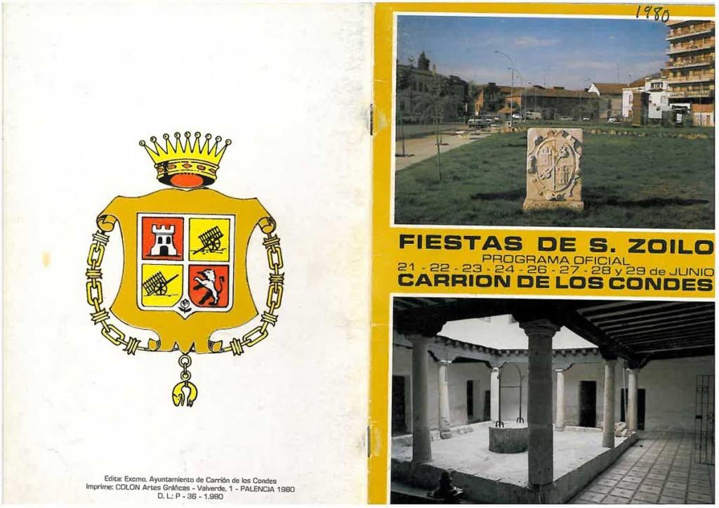 Fiestas-San-Zoilo-1980 Carrión de los Condes