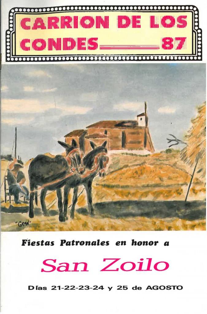 Fiestas-San-Zoilo-1987 Carrión de los Condes