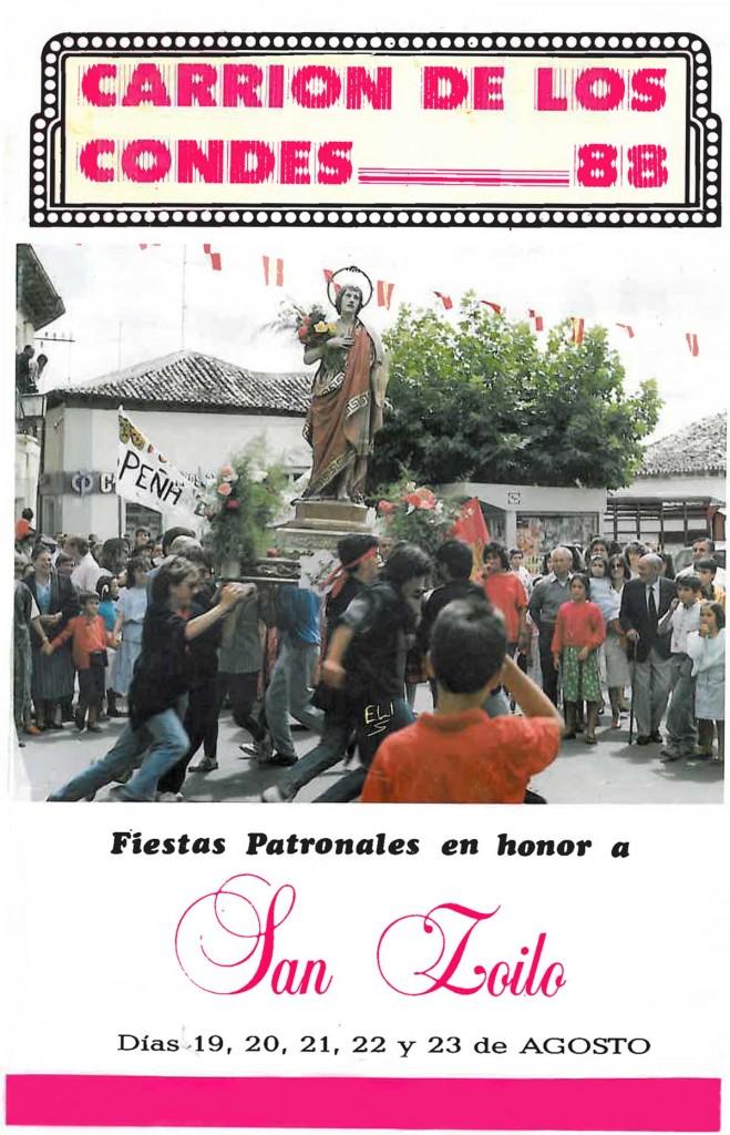 Fiestas-San-Zoilo-1988 Carrión de los Condes