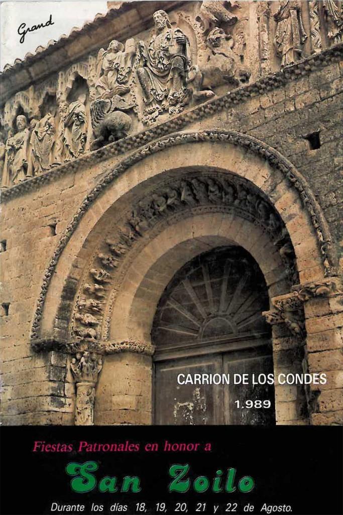 Fiestas-San-Zoilo-1989 Carrión de los Condes