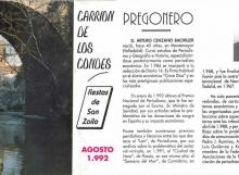Fiestas-San-Zoilo-1992-1 Carrión de los Condes