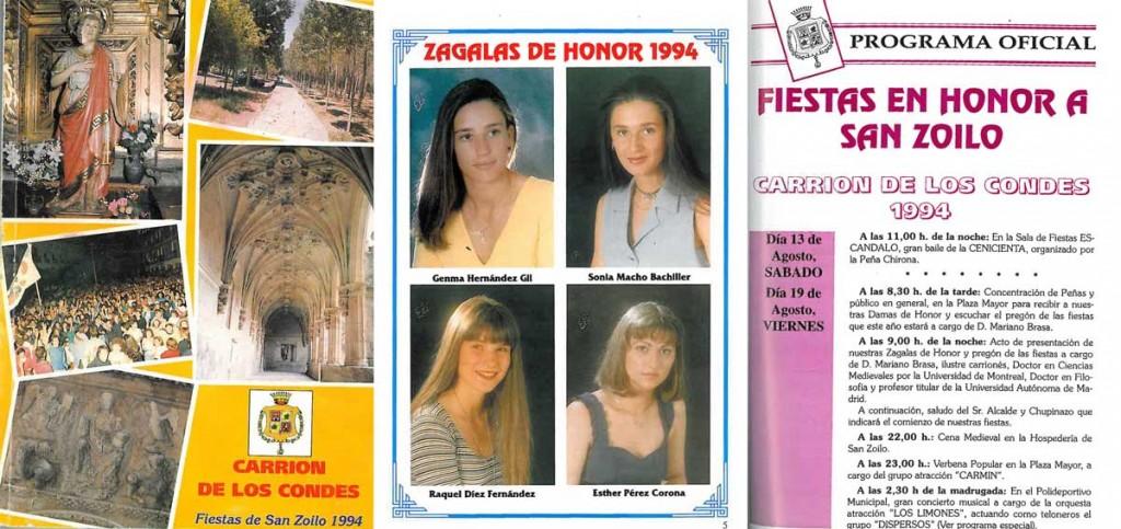 Fiestas-San-Zoilo-1994-1 Carrión de los Condes