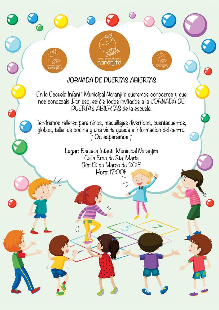 Jornada de puertas abiertas - Escuela Infantil Municipal Naranjito en Carrión de los Condes