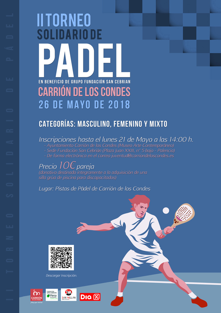 II Torneo de Pádel Solidario de Carrión de los Condes.