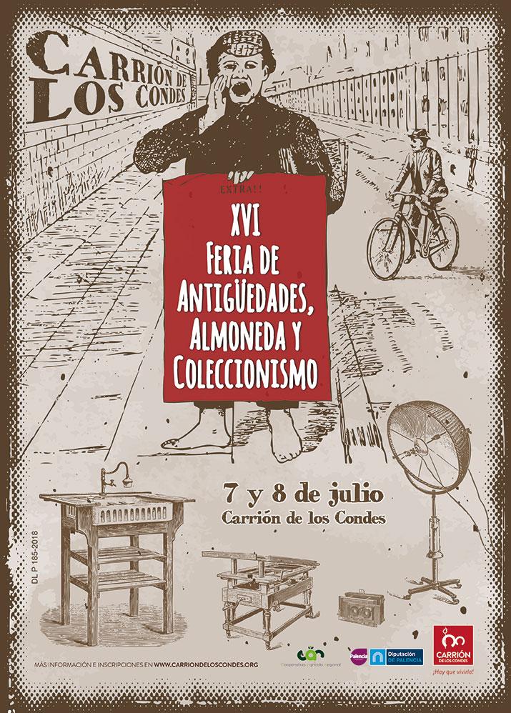 XVI Feria Antigüedades, Almoneda y Coleccionismo de Carrión de los Condes