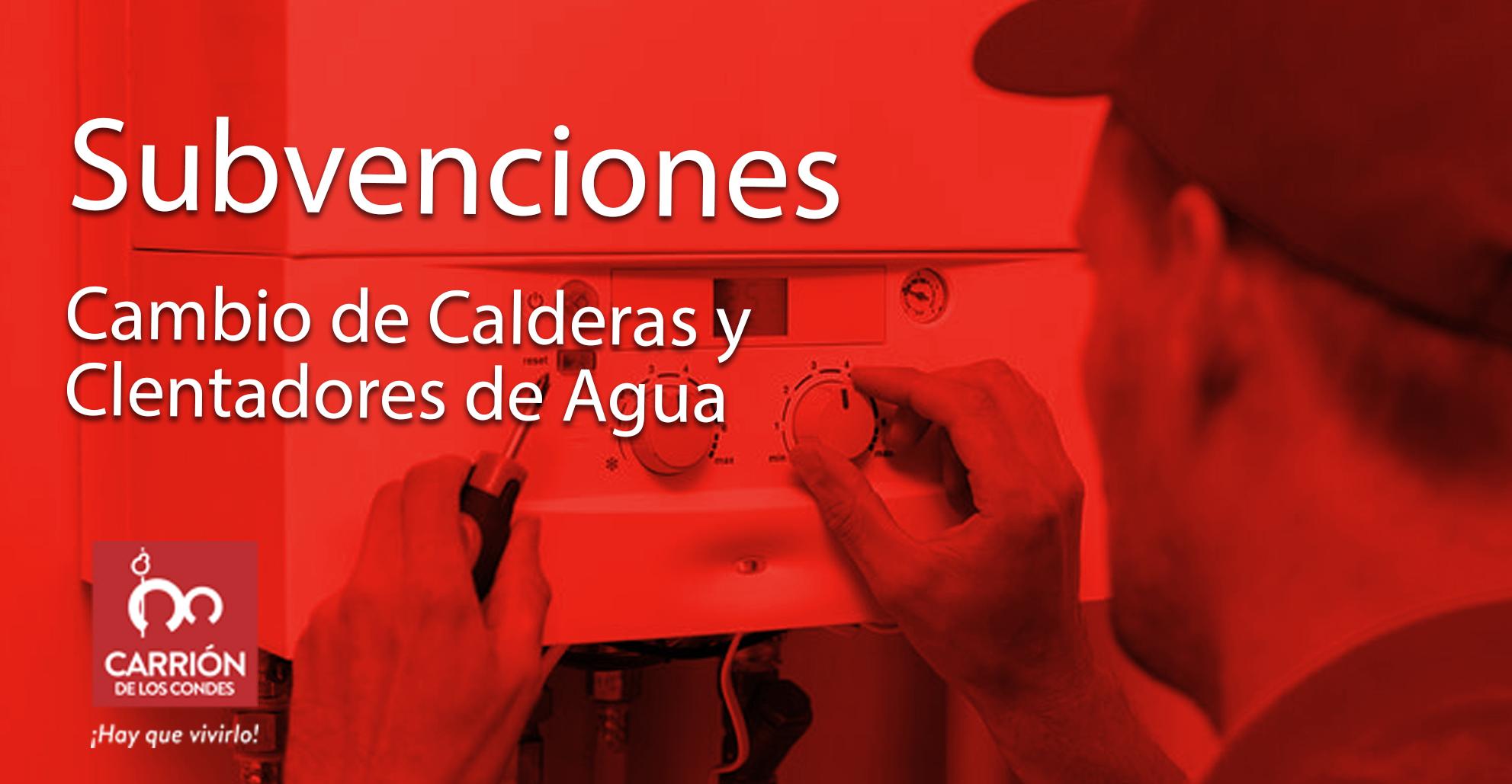 SUBVENCIONES DIRIGIDAS A SUSTITUCIÓN DE CALDERAS Y CALENTADORES INDIVIDUALES DE MÁS DE DIEZ AÑOS (2018)