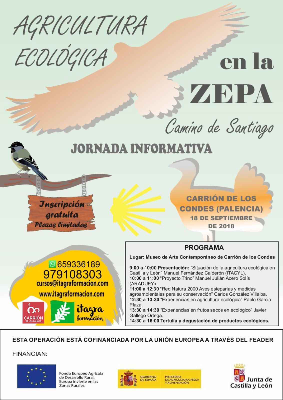 Agricultura Ecológica en la Zepa Camino de Santiago