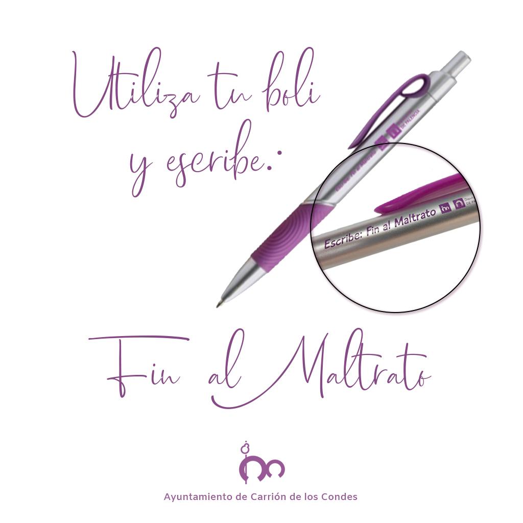 Escribe: FIN AL MALTRATO!!!