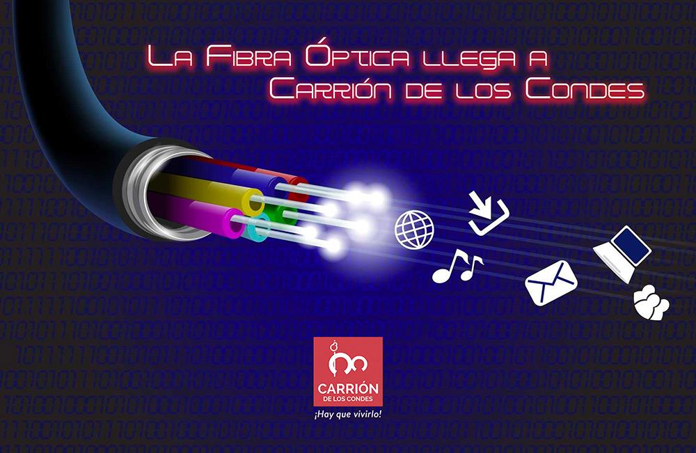 La fibra óptica llega a Carrión de los Condes