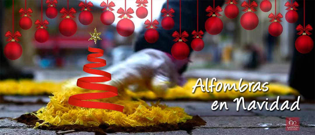 Alfombras en Navidad