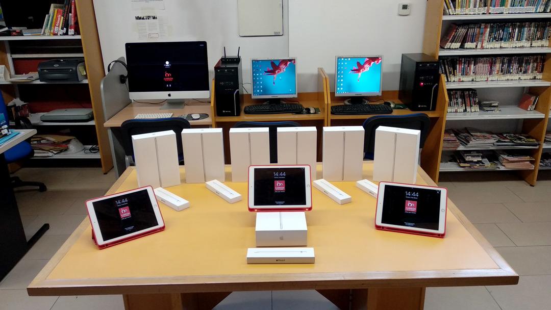 Carrión de los Condes contará con dispositivos Apple en su biblioteca municipal