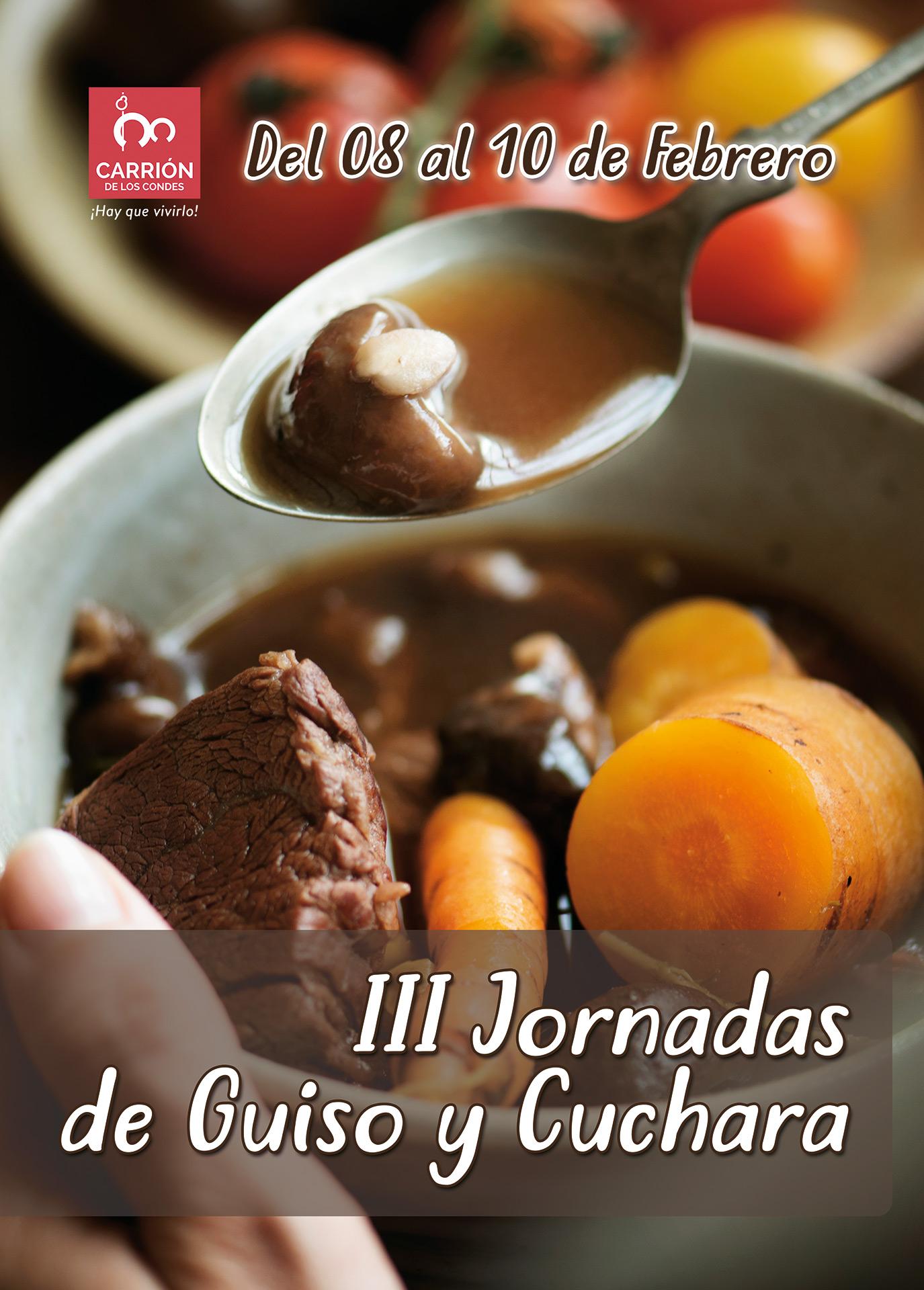 III Jornadas gastronómicas de Guiso y Cuchara en Carrión de los Condes