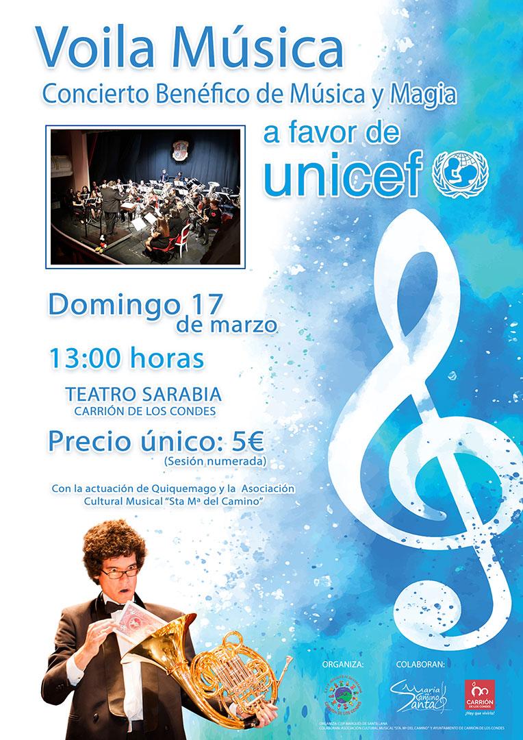 VOILA MÚSICA - Concierto Benéfico de Música y Magia a favor de UNICEF