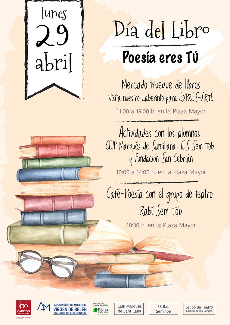 Día del Libro, Poesía eres tú