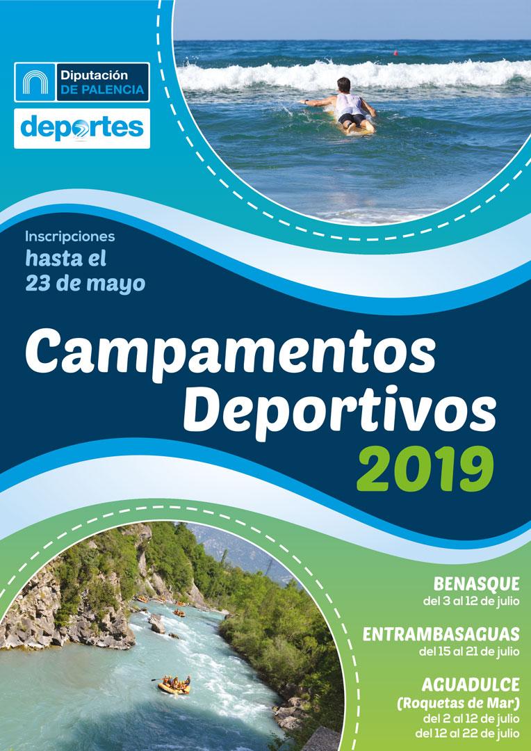 Campamentos Deportivos 2019 de la Diputación de Palencia