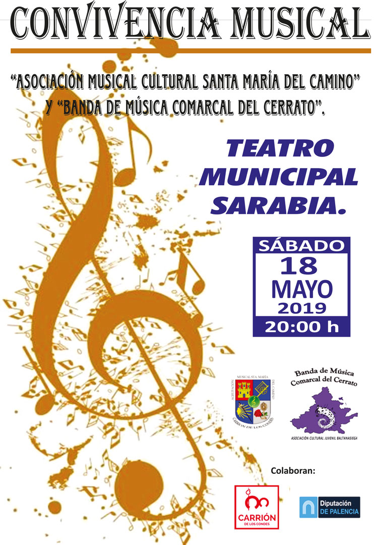 Convivencia Musical Sábado 18 de mayo