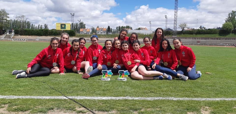 Campeonas y Subcampeonas Regionales en Campeonato de Castilla y León Escolar