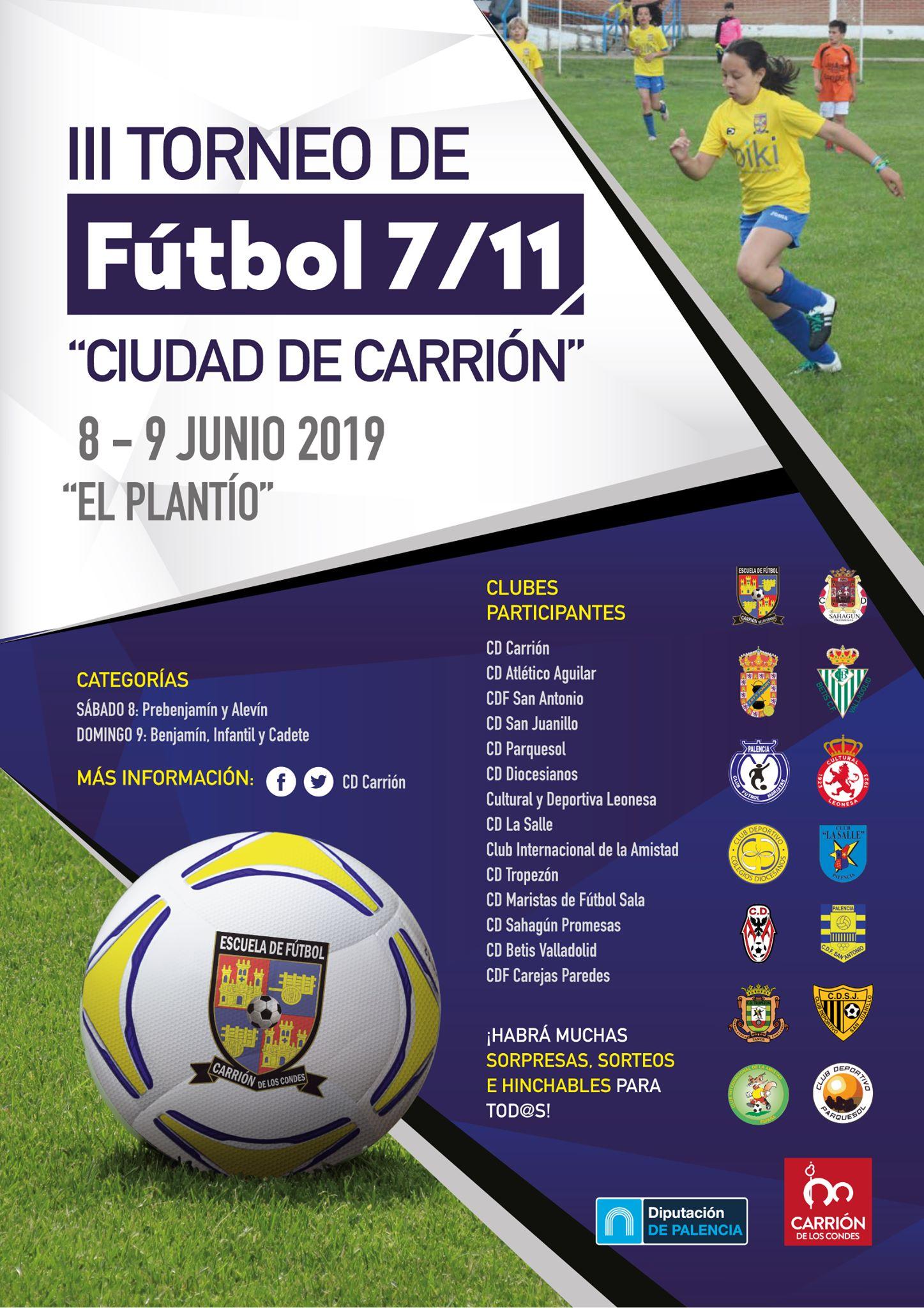 III Torneo Fútbol-7 y fútbol-11
