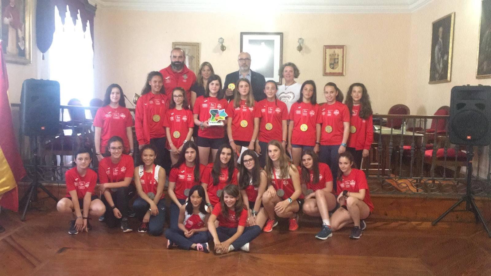 Los equipos sub14 y sub16 de Carrión de los Condes se proclamaron Campeonas y Subcampeonas