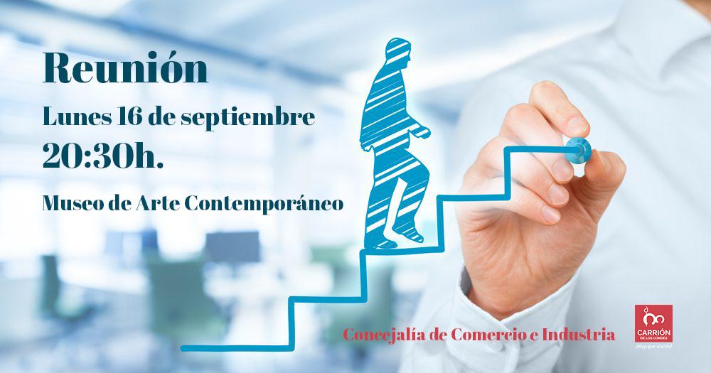 Reunión Comercio y Empresas de Carrión de los Condes